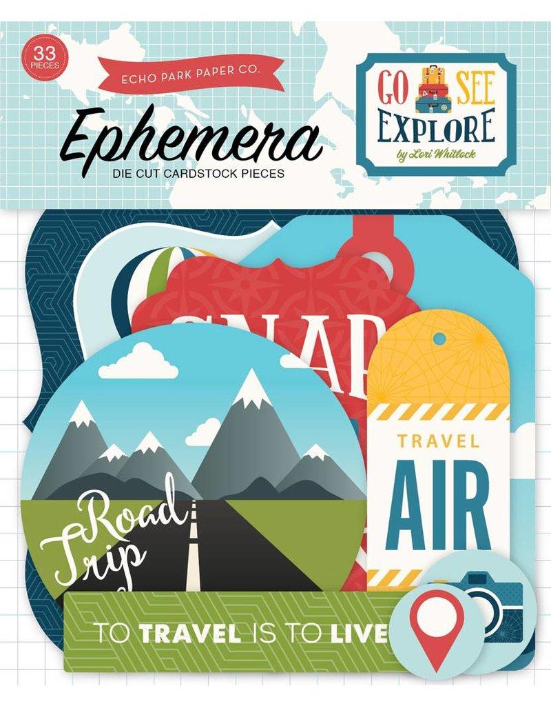 Echo Park Go See Explore Ephemera