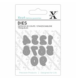 Xcut Stanzschablonen Set  Numbers