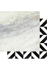 "Heide Swapp magnolia jane polished Cardstock Bogen 12x12"""