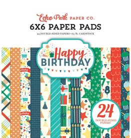 Echo Park Happy Birthday Boy 6x6 Paper Pad von Echo Park