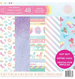 Craft Smith Craft Smith Stay Magical Paper Pad 12x12