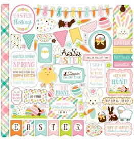 Echo Park hello Easter 12x12 Stickers