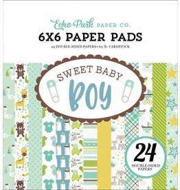 Echo Park Sweet Baby Boy 6x6 Inch Paper Pad