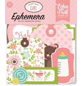 Echo Park Sweet Baby Girl  Ephemera von Echo Park