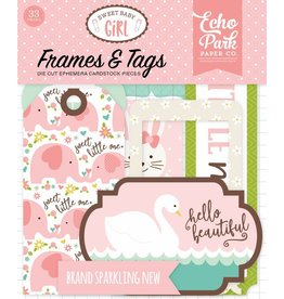 edding Sweet Baby Girl Frames & Tags Ephemera