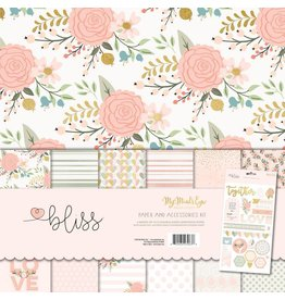 My Mind`s Eye Bliss Paper & Accessories Kit 12x12