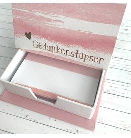 Notizzettel Box Gedankenstupser