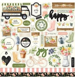 Carta Bella Spring Market  Sticker Sheet 12x12 Inch
