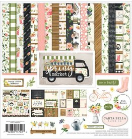 Carta Bella Spring Market Collection Kit 12x12 Inch