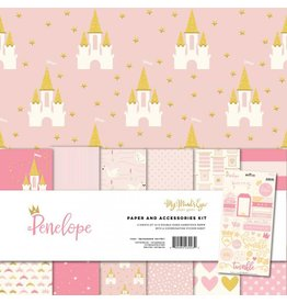 My Mind`s Eye Penelope Paper & Accessories Kit 12x12