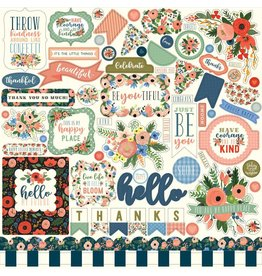 Carta Bella Carta Bella Flora no.2 12x12 Inch Element Sticker
