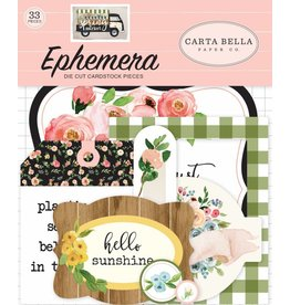 Carta Bella spring market Ephemera von Carta Bella