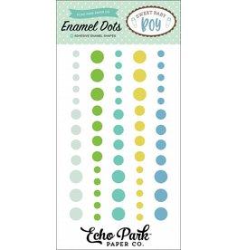 Echo Park Sweet Baby Boy Enamel Dots