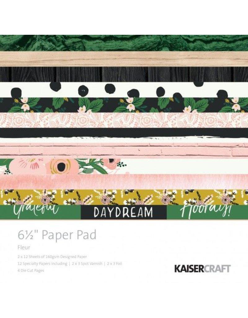 Kaisercraft Fleur Paper Pad 6,5x6,5 von Kaisercraft