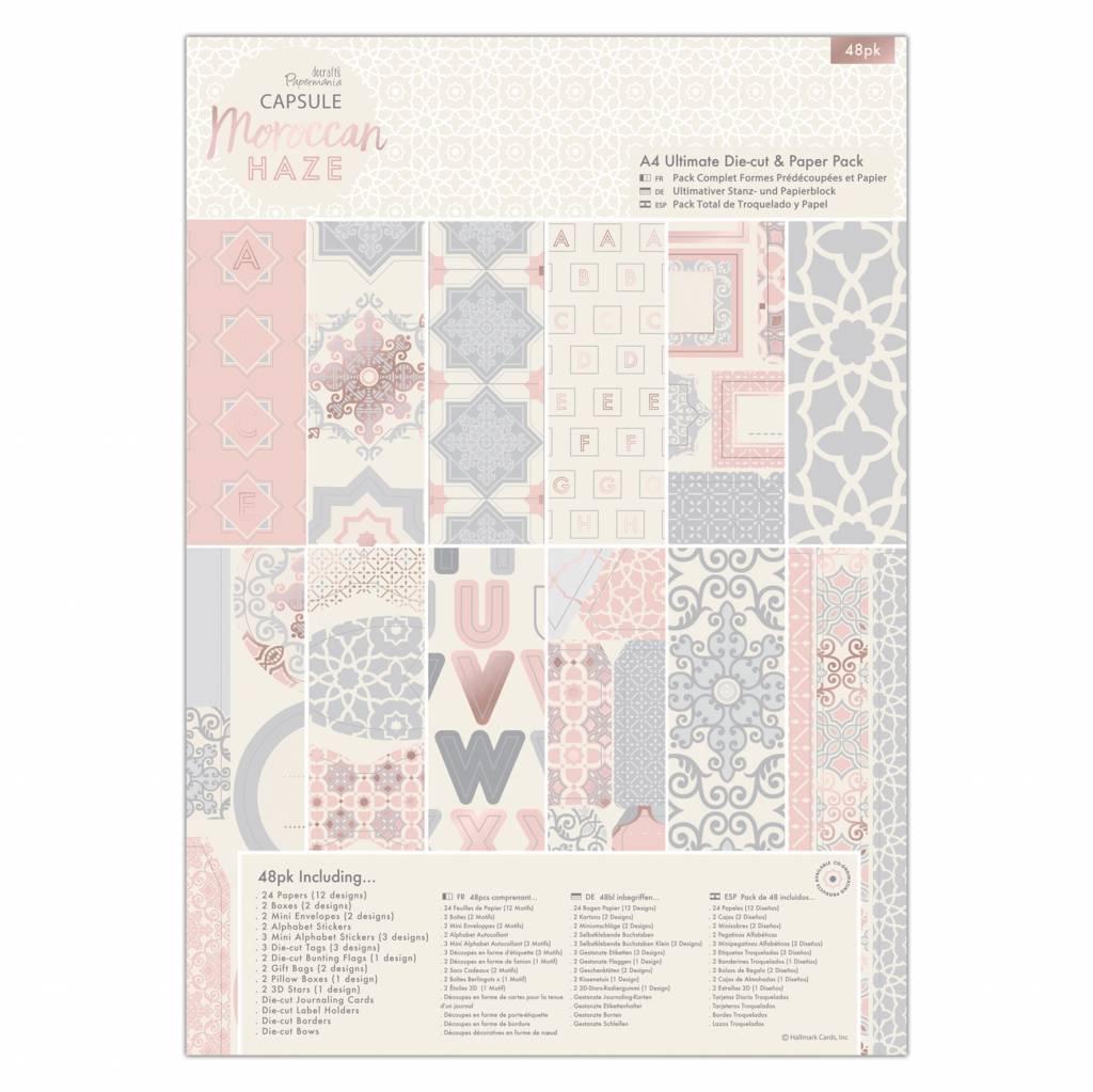 Papermania A4 Ultimate Die-cut & Paper Pack - Moroccan Haze