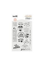 kesi`art Clear Stamps Set Moonlight