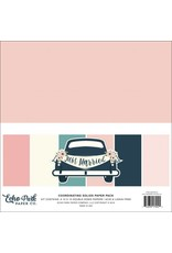Echo Park Just Married Coordinating Solids 12x12 Inch