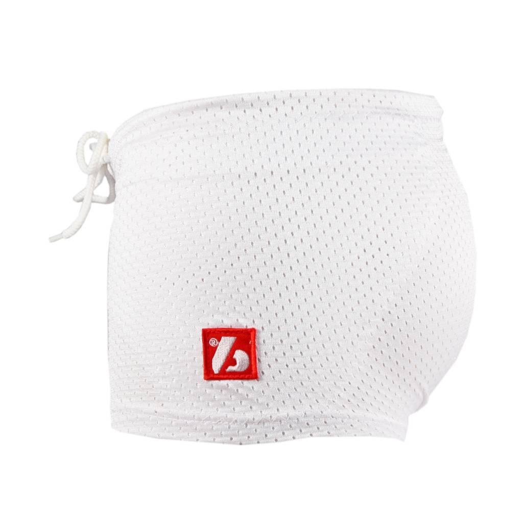 FS-01 Short de compression 3 poches, blanc