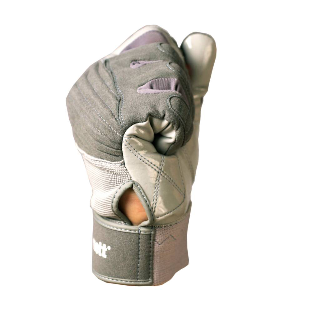FKG-01 gants de football américain de linebacker, gris  LB,RB,TE