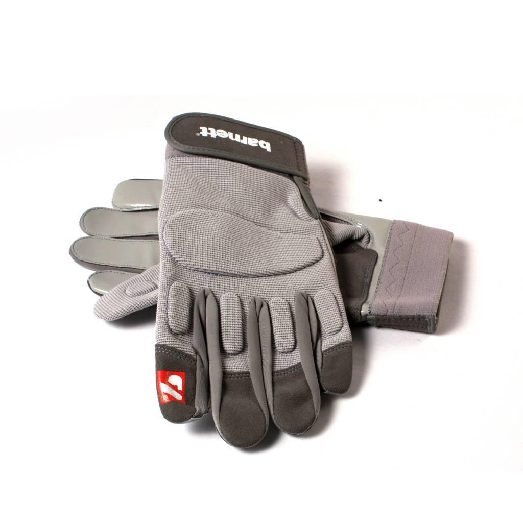 FLG-01 gants de football américain de linemen, Gris, OL,DL