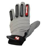 FKG-02 gants de football américain de linebacker, LB,RB,TE, Gris