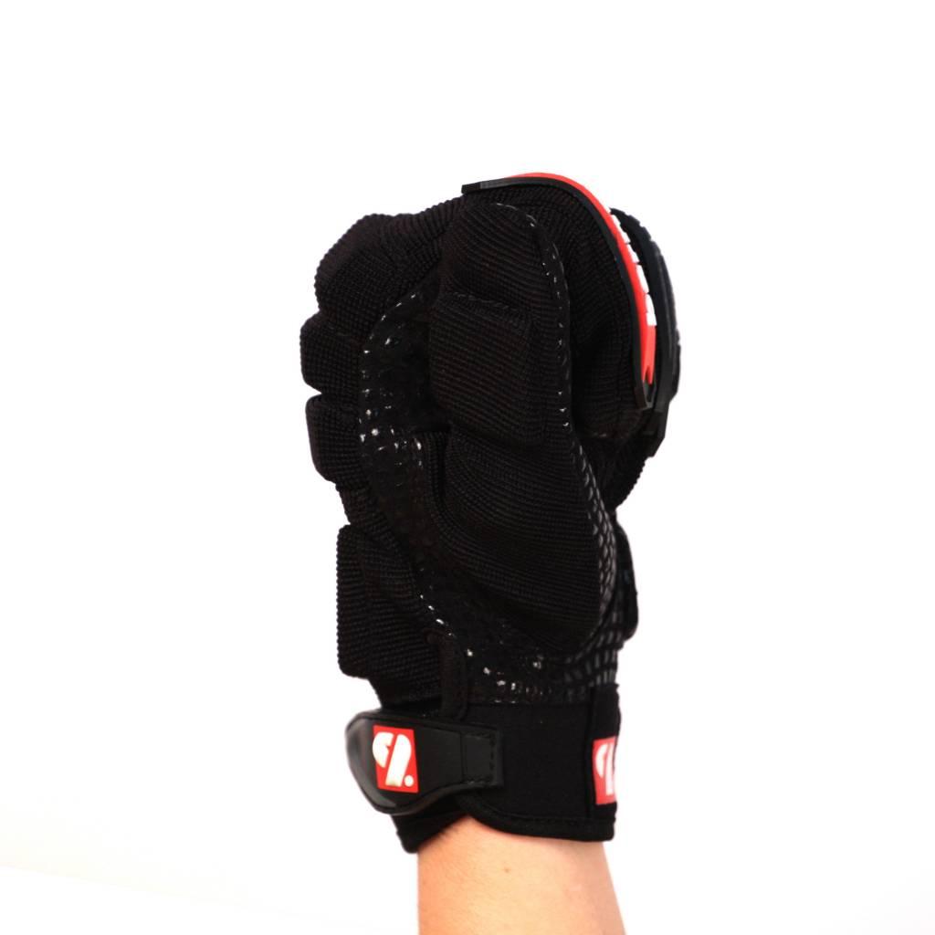 FLG-02 gants de football américain de linemen, OL,DL, Noir