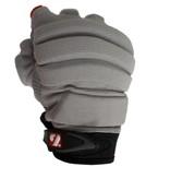 FLGC-02 gants de football américain de linemen fit court, Gris