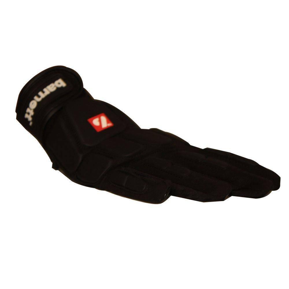 barnett FKG-03 gants de football américain de linebacker pro, LB,RB,TE Noir
