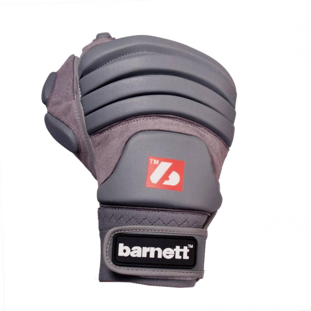 FLG-03 gants de football américain de linemen pro, OL,DL, Gris