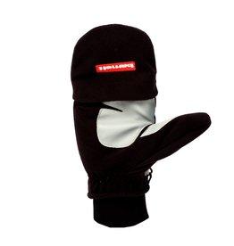 Barnett NBG-02 gants de ski moufle retractable, Noir