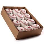 "PL-1 balle de baseball match ""Élite""', taille 9'', blanc, 1 douzaine"