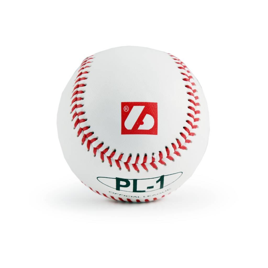"""PL-1 Elite match baseball, Size 9"""" White, 2 pièces"""