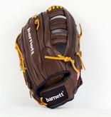 "GL-127 gant de baseball cuir 12,7"" de compétition outfield 12,5"", marron"