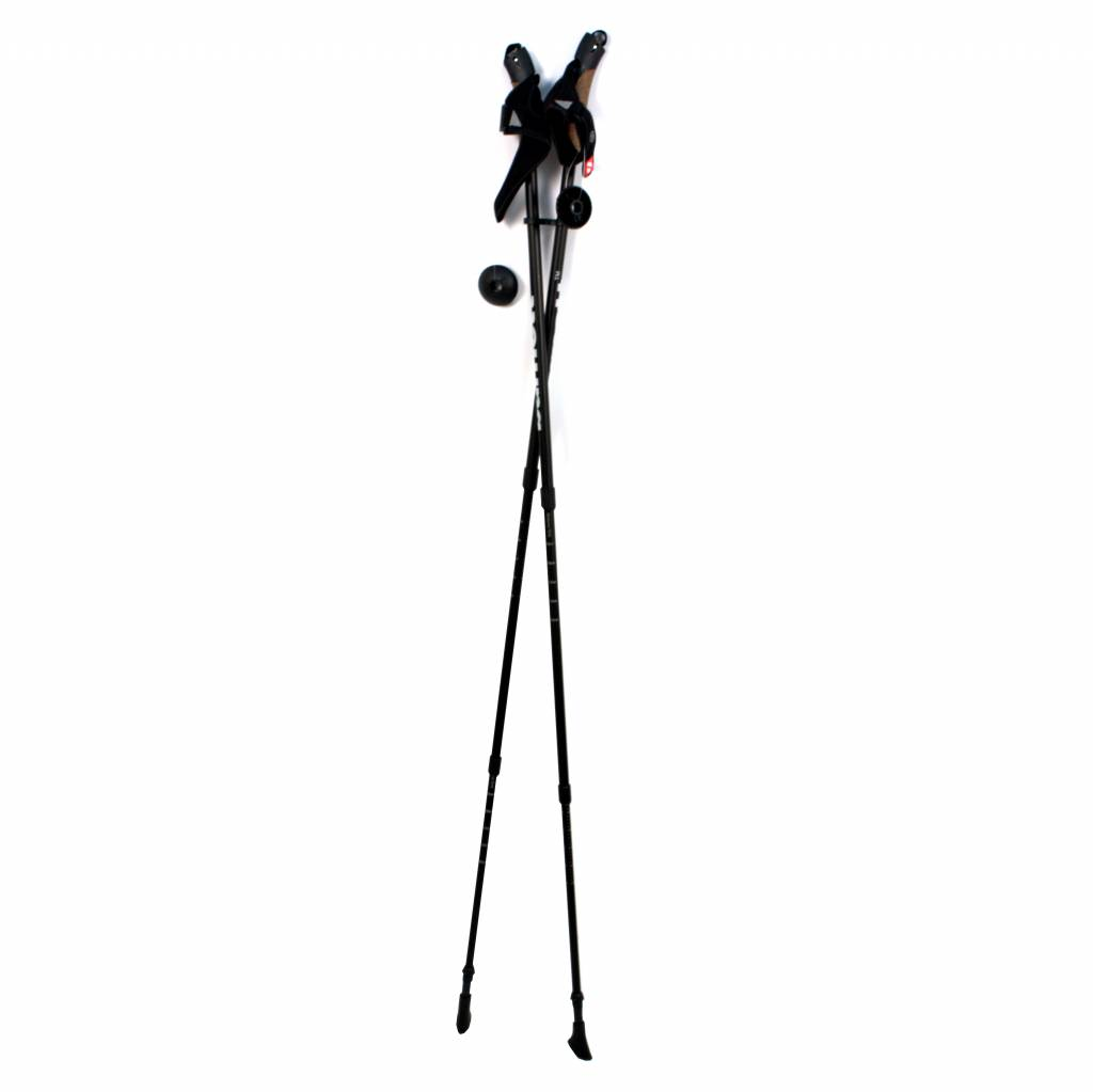 NWC-3 batons de nordic walking carbon hyper light, 3 sections