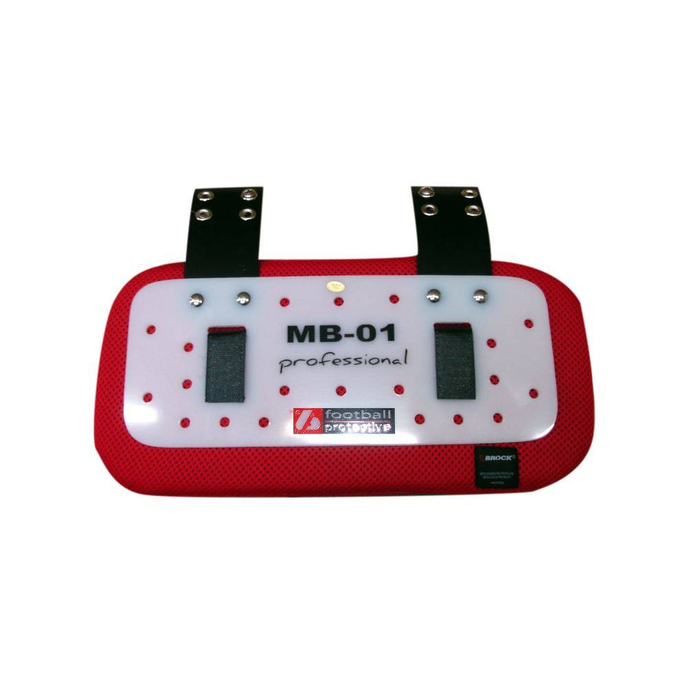 MB-01 Protection dos, pro lycra, ultra respirante et légère, rouge