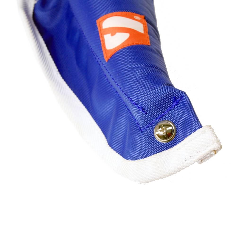 N01 protège cou pour épaulière, taille M, bleu