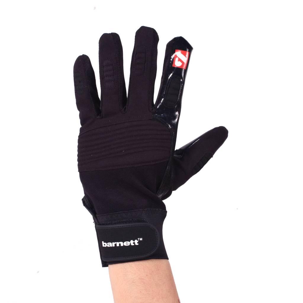 FKG-01 gants de football américain de linebacker, LB,RB,TE, NOIR