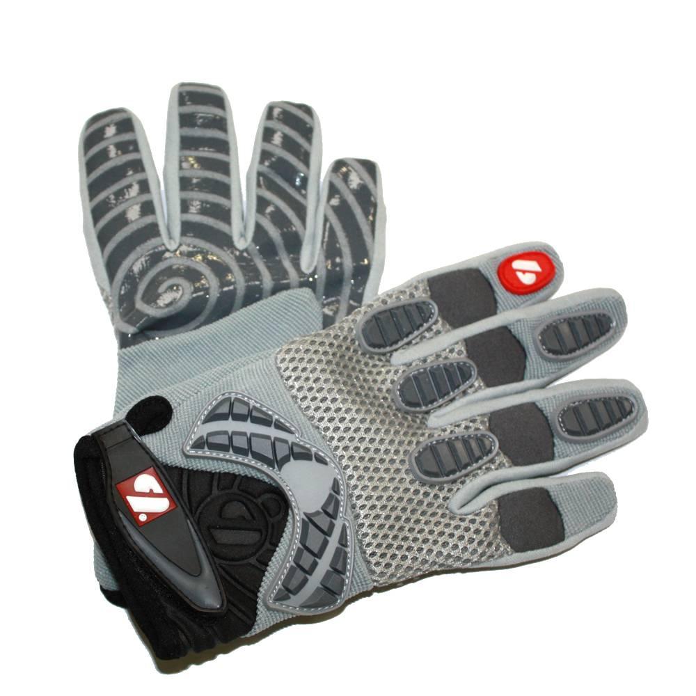 FRG-02 gants de football américain de receveur, Gris