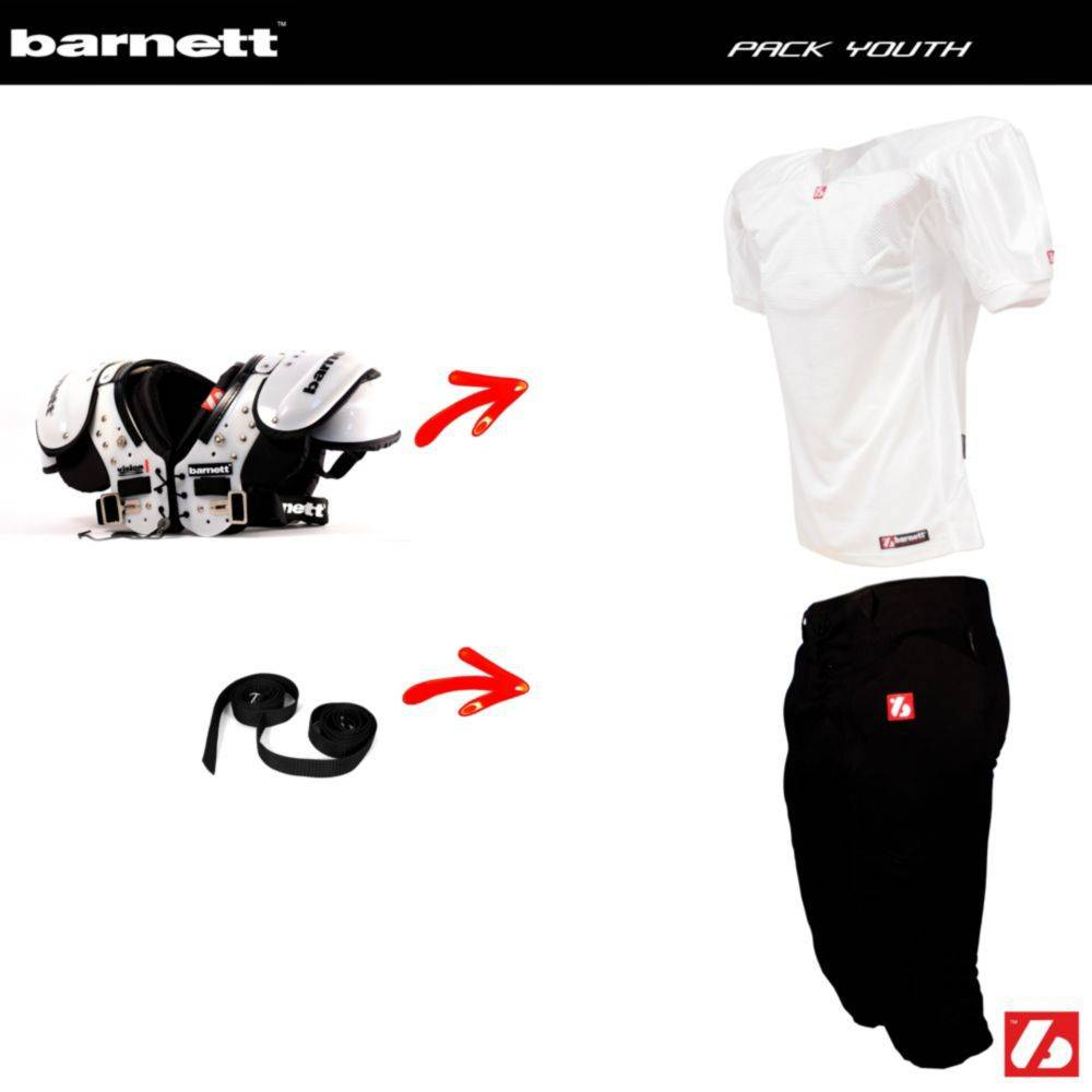 barnett Pack Youth Football Américain (Vision JR + FJ-1 + FP-2 + 2pcs CMS-01)