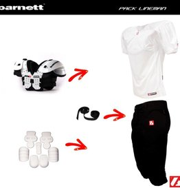 barnett Pack Lineman Football Américain