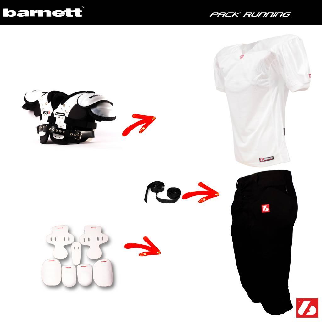 barnett Pack Football Américain Running Back (Vision II+ FJ-2 + FP-2 + FHP-02 + FKP-02 + FTP-02 + 2pcs CMS-01)