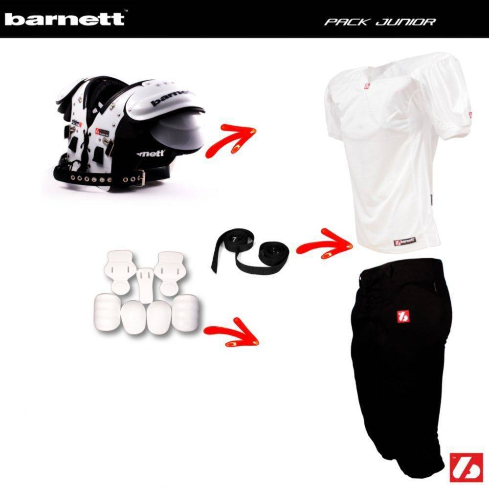 barnett Pack Junior Football Américain (Vision I + FJ-2 + FP-2 + FKJ-01+ 2pcs CMS-01)