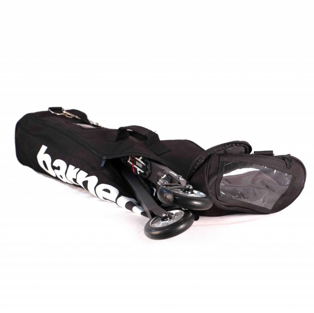 barnett SMS-08 Sac de ski roue, taille senior, noir