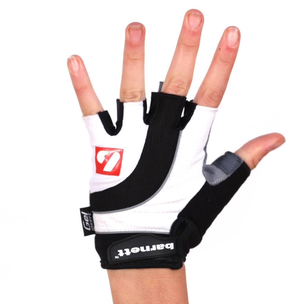 barnett gants de vélo BG-04 courts compétition, blanc
