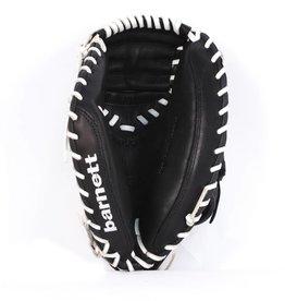 """barnett GL-202 gant de baseball cuir de catch pour adulte 34"""", noir"""