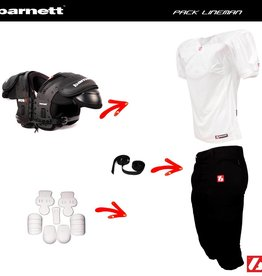 barnett Pack Football Américain Lineman PRO