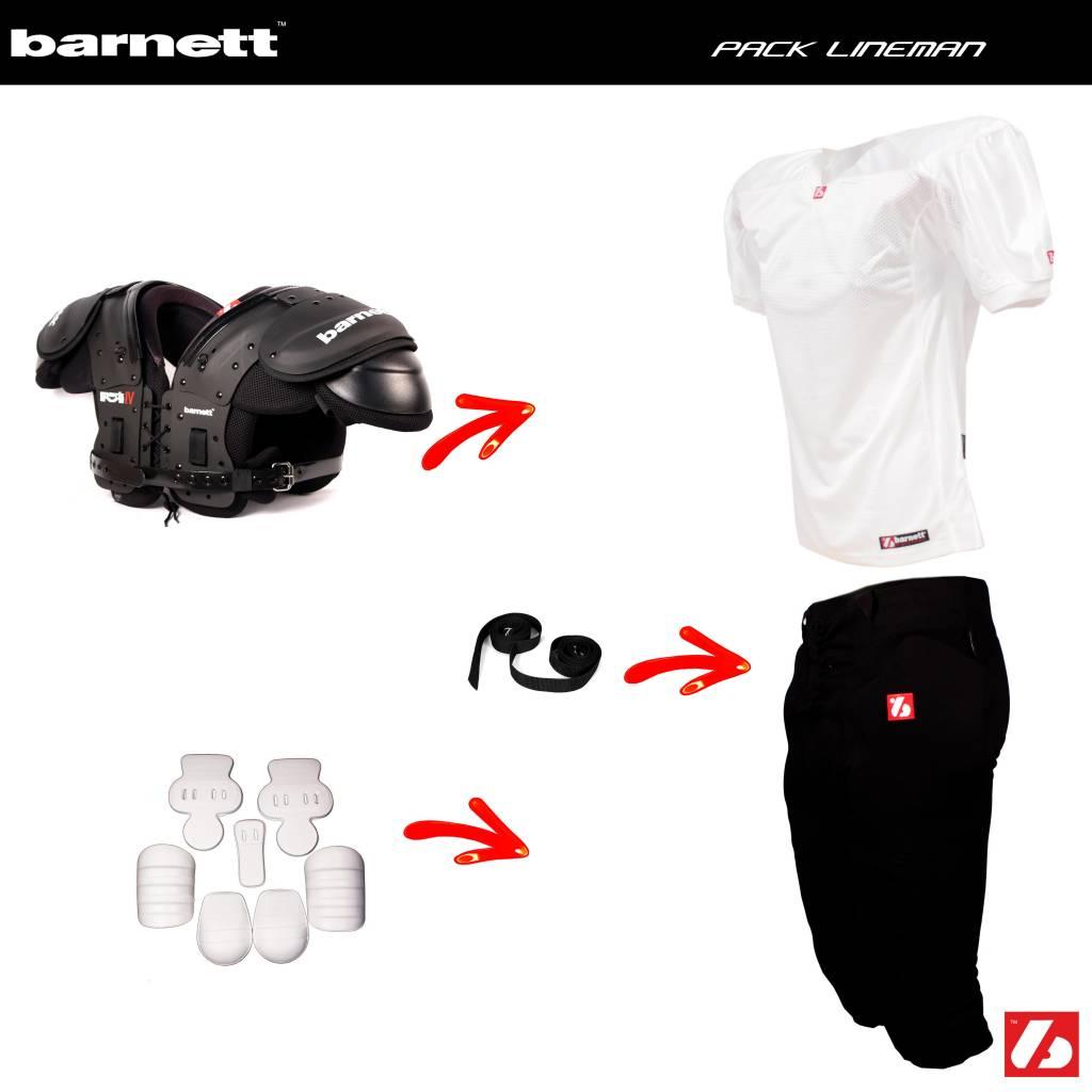 barnett Pack Football Américain Lineman PRO (MARK IV ou III + FJ-2 + FP-2 + FKA-03 + 2pcs CMS-01)