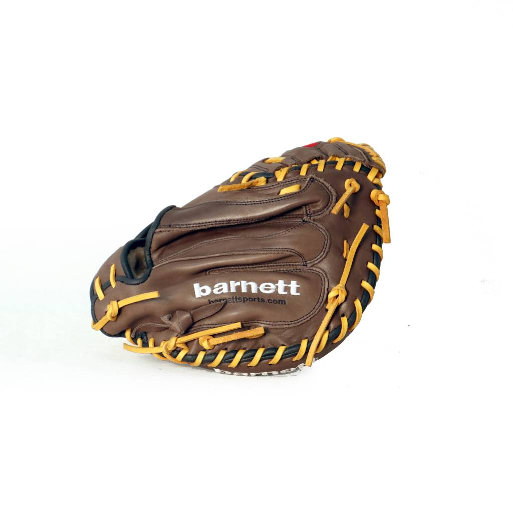"barnett GL-202 gant de baseball cuir de catch pour adulte 34"", marron"