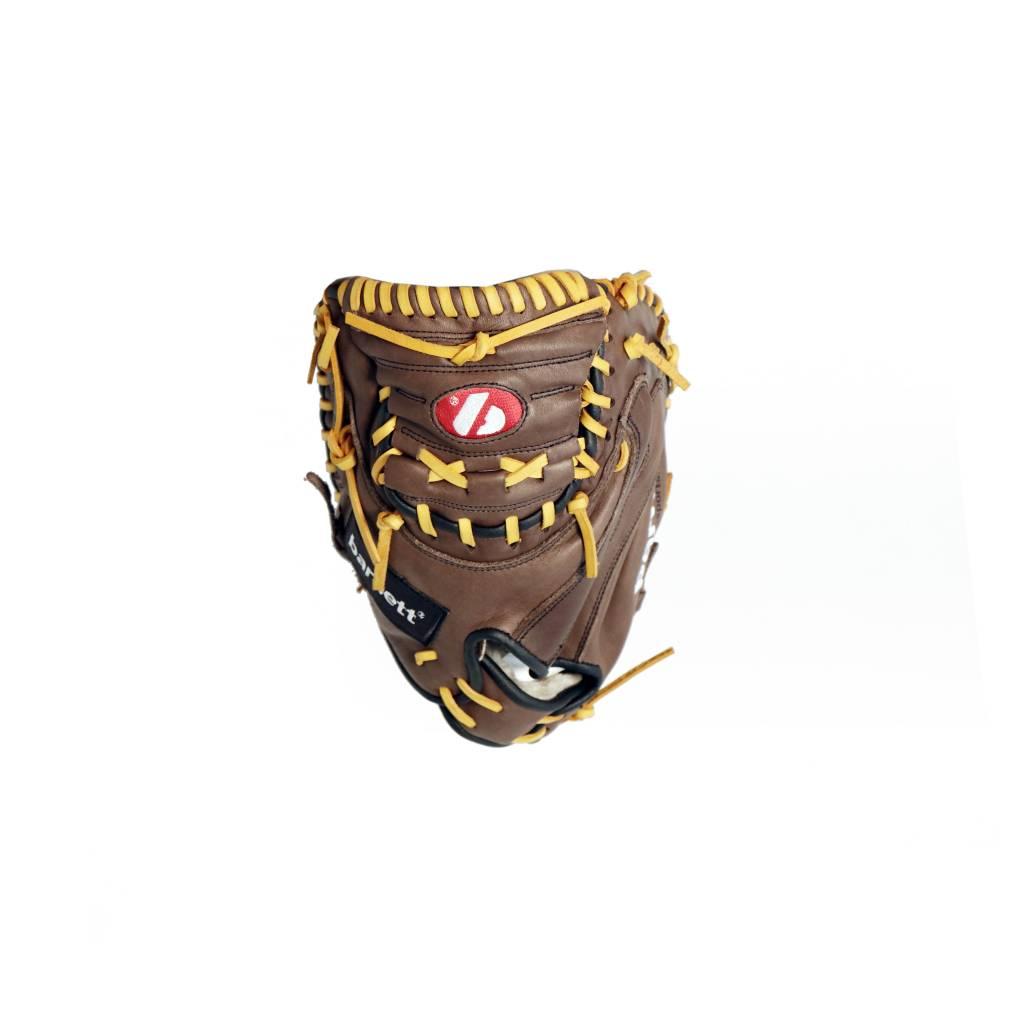 """- GL-202 gant de baseball cuir de catch pour adulte 34"""", marron"""
