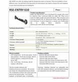 RSE 610 Ski roues initiation NOIR